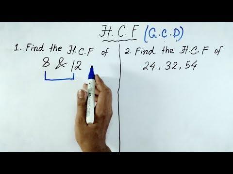 Super fast Tricks of H.C.F (In Hindi) | Best Shortcuts Tricks of HCF