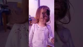 Наши детки: Первый макияж