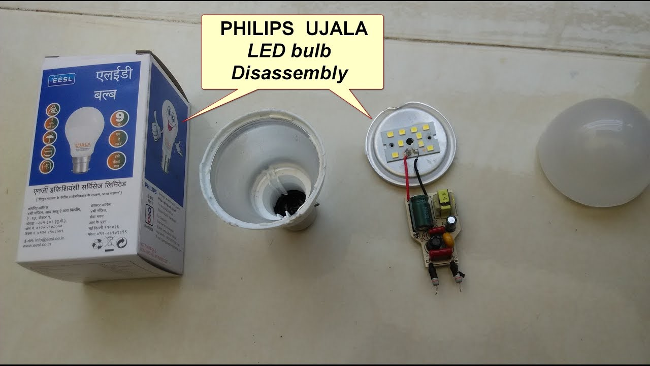 See Whats Inside Philips Ujala Led Bulb Youtube 9v Circuit Calculation How To Calculate Series Resistor Watts