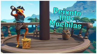 SHOWING THE NEW STYLE OF SKIN PEIXOTO & 100 + BACKPACKS | FORTNITE