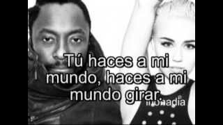AUDIO ORIGINAL Fall Down WILL. I. AM. ft. Miley Cyrus Traduccion al español