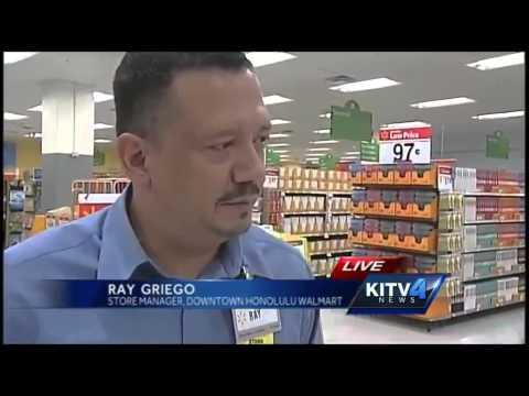 Downtown Honolulu Walmart opens Wednesday