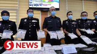 Almost RM600k of drugs seized in Langkawi drug bust