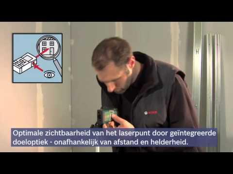 Bosch Laserafstandsmeters GLM 250 VF Professional
