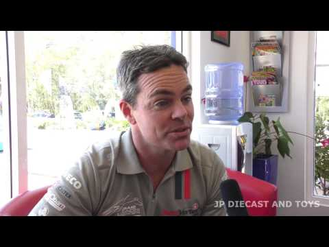 Craig Lowndes Interview Bathurst and Diecast models