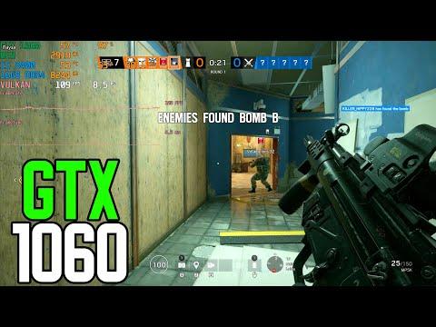 Tom Clancy's Rainbow Six  Siege  - GTX 1060 3gb | i5 8400 | 16GB | 1080p | FRAME-RATE TEST |