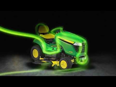 John Deere ride on mowers and attachments - Chesterfield Australia