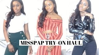 MISSPAP TRY-ON HAUL | SPRING ESSENTIALS | Jade Vanriel