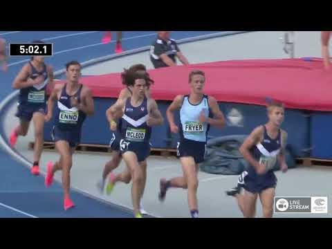 U18 Mens 3000m - Final 2 - 2018 Australian Junior Athletics Championships