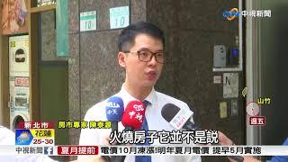 豪宅建案大火 建商欲哭無淚損失21億│中視新聞 20180914