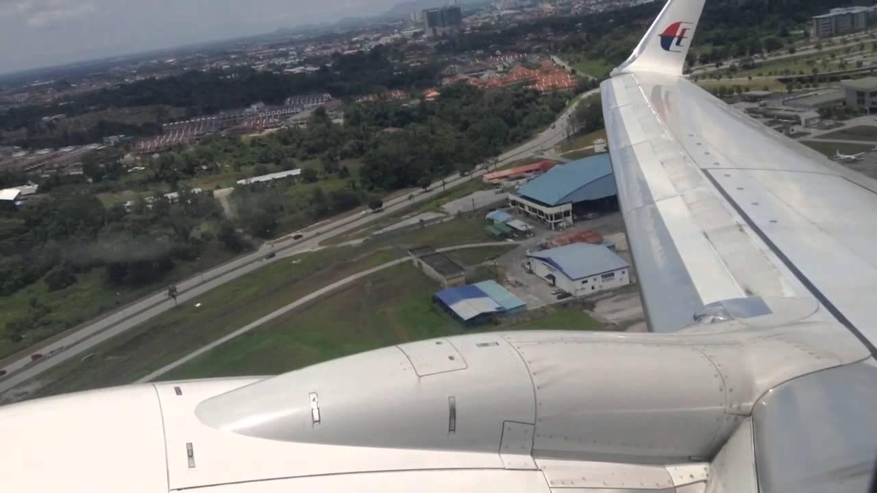 Malaysia Airlines Flight Mh2513 Taking Off From Kuching To Kuala Lumpur Youtube