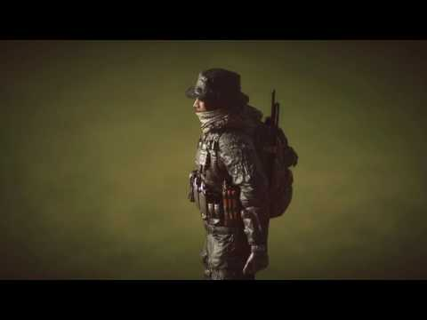 Paracel Storm. US Recon Soldier Plays A Round Of Golf Before Reporting In For War.