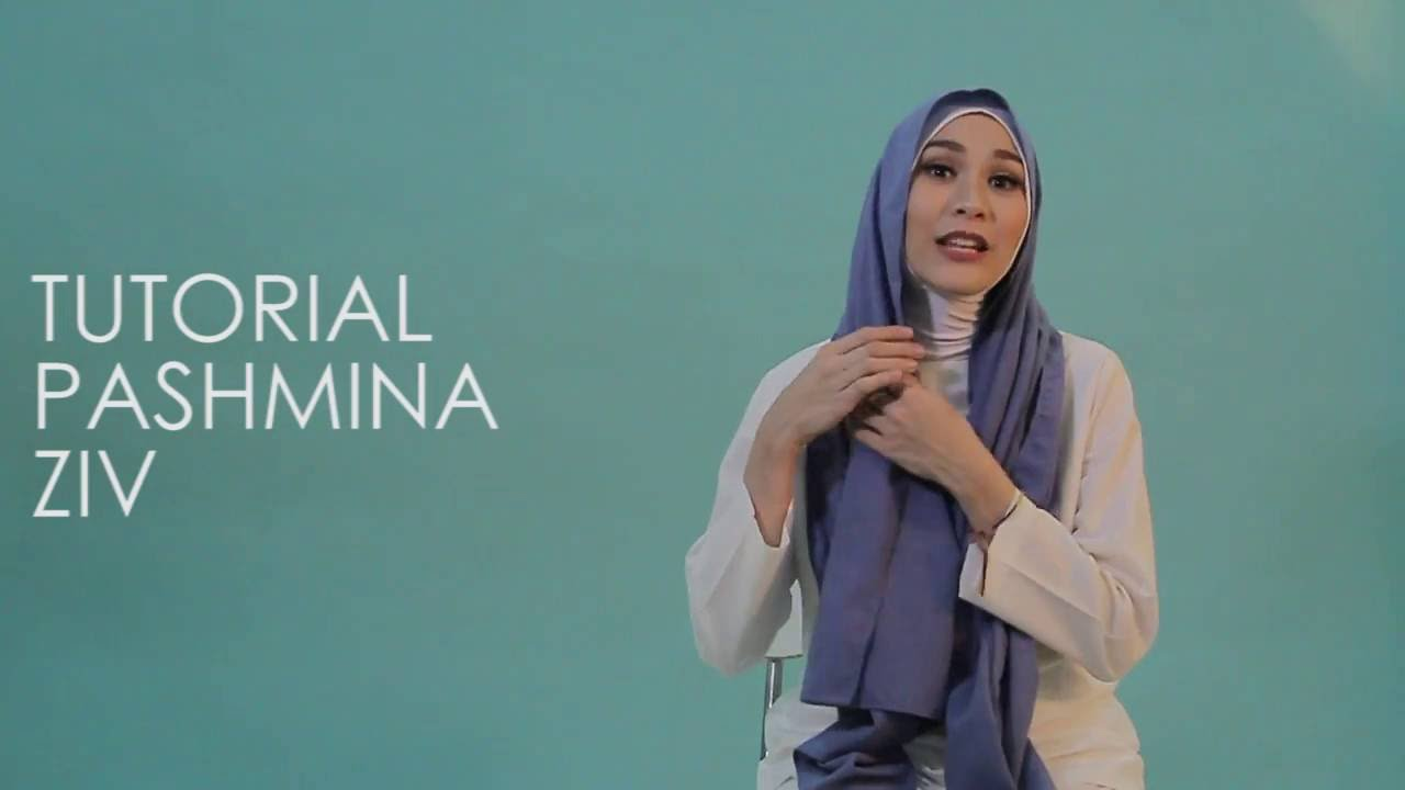 Tutorial Hijab Ziv By Zaskia Mecca YouTube