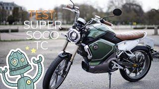 Test / Essai : Super Soco TC - La petite moto électrique 50cc