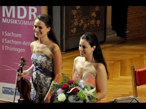 J. Brahms, Scherzo in C minor - Lea & Esther Birringer