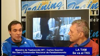 Carlos Guerrini nos cuenta sobre el TK5 y su participación