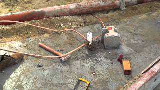 Installation Grounding System (Ground rod With Bare Copper )