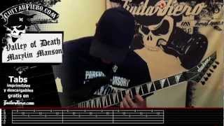 """Como tocar """"In The Shadow Of Valley Of Death"""" (Marilyn Manson) by Guitarfiero Mp3"""