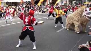 琉球舞団 昇龍祭太鼓 ・新宿エイサーまつり 2015 ・マルイアネックス前 ...