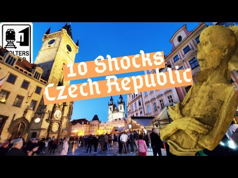Czech Republic - 10 Shocks of Visiting The Czech Republic