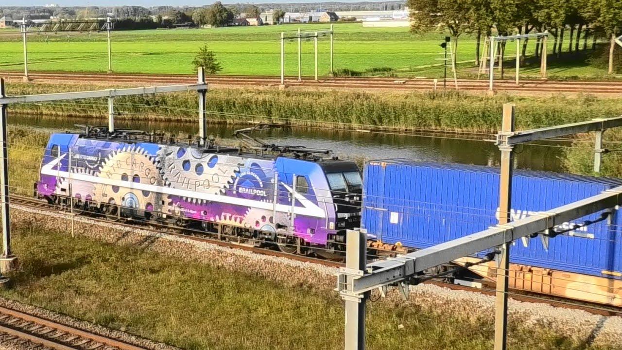 treinen, rangeerterrein Kijfhoek, 19 OKT 2020