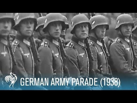 German Army Parade (1938) | British Pathé