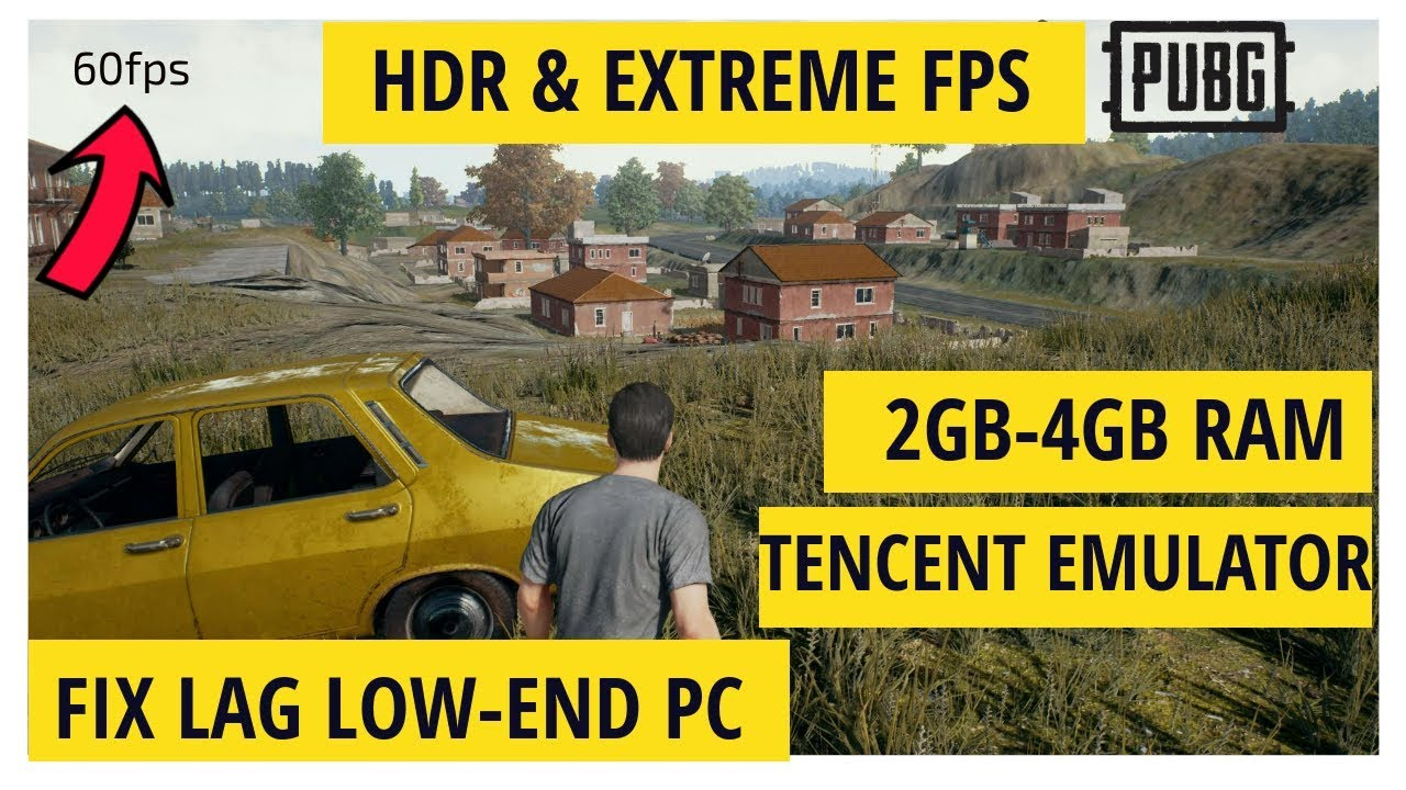 Fix Pubg Mobile Lag For Low End Pc