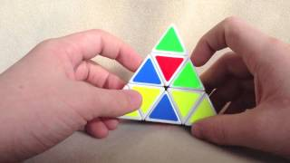 How To Solve A Pyraminx  Beginner Method