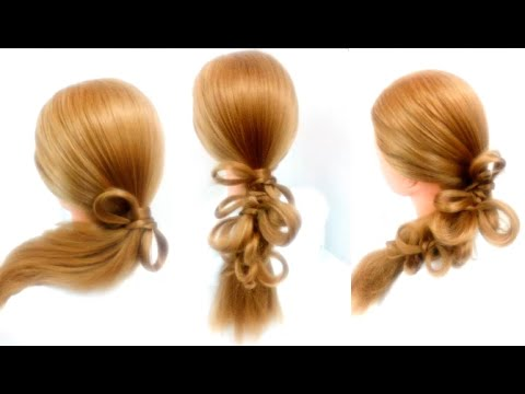 How to make a Bow   Summer Hairstyles