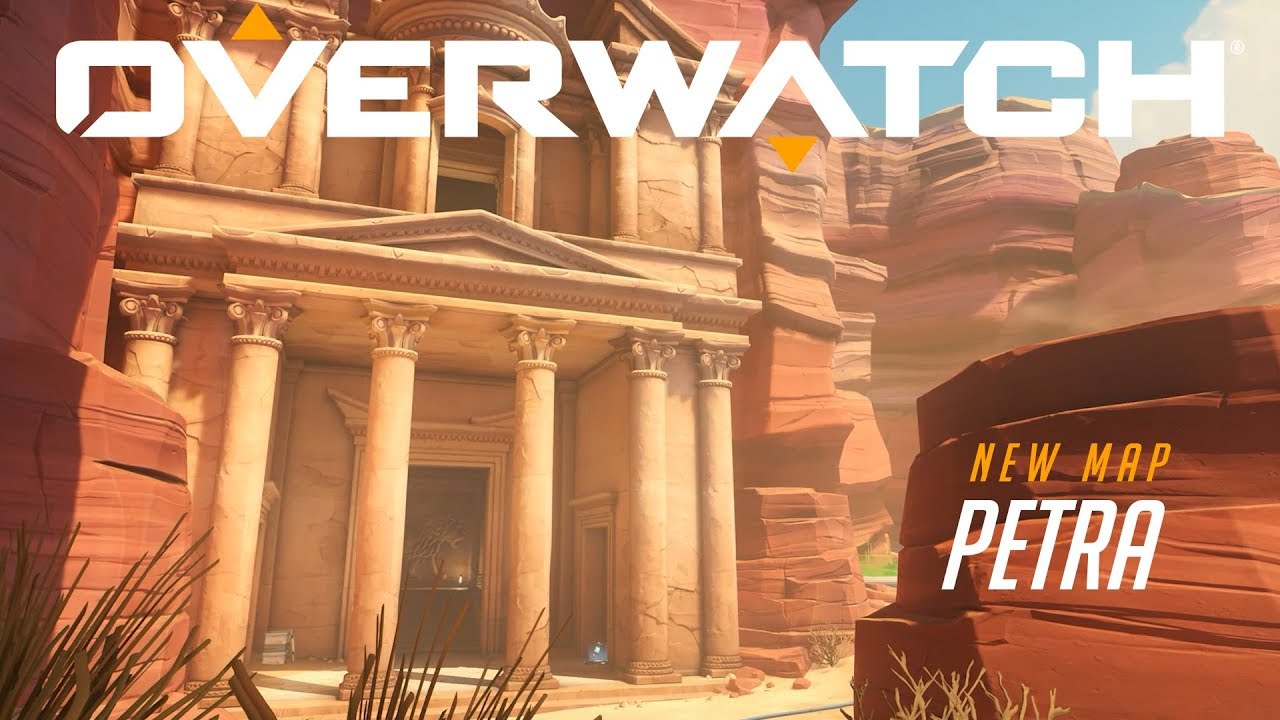[NOW PLAYABLE] Petra | New Deathmatch Map | Overwatch