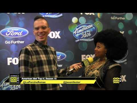 La'Porsha Renae at American Idol Top 6...