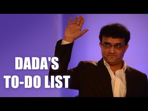 BCCI was in a state of emergency, priority to sort that out - Sourav Ganguly