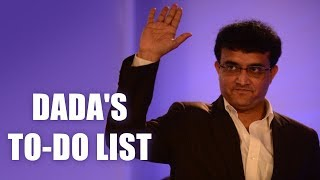 BCCI was in a state of emergency, priority to sort that out Sourav Ganguly