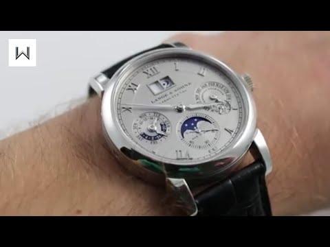 A. Lange & Sohne Langematik Perpetual 310.025E Luxury Watch Review