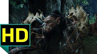 """Бой в Элвинском лесу. Отрывок из фильма """"Варкрафт"""""""