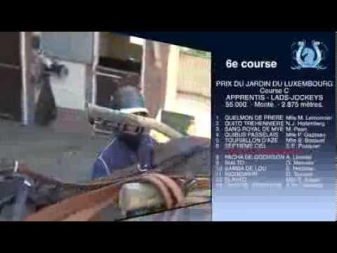 A2TURF - Jean-François SENET pour QUITO DE LA CREUSE (607) ce mercredi à Enghien