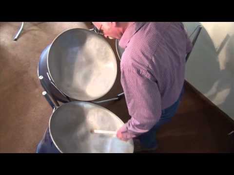 Ode to Joy on steel drum Guitars