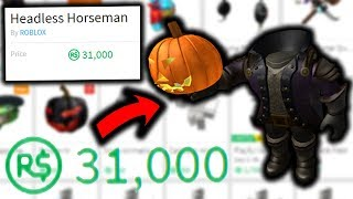 I HATE HEADLESS HORSEMAN (ROBLOX)