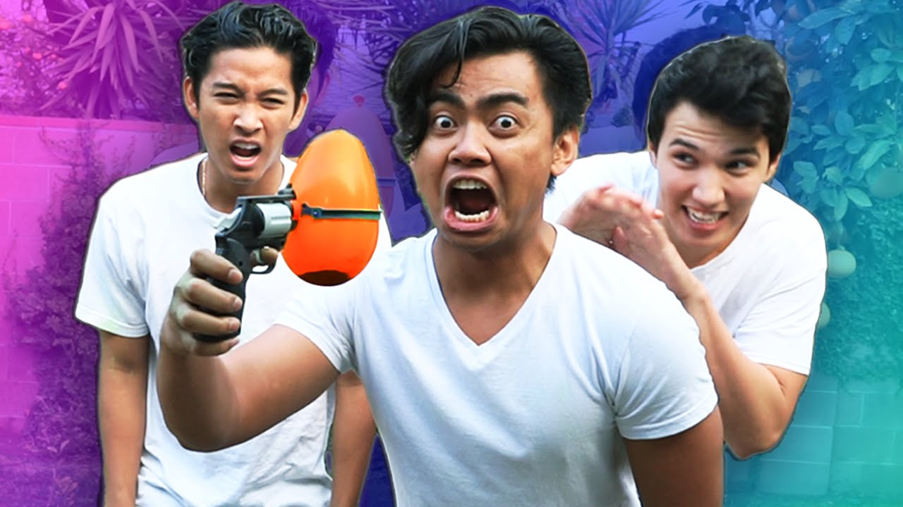 extreme balloon roulette challenge