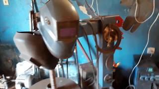 видео Кузня дома своими руками - обзор механизмов и инструментов