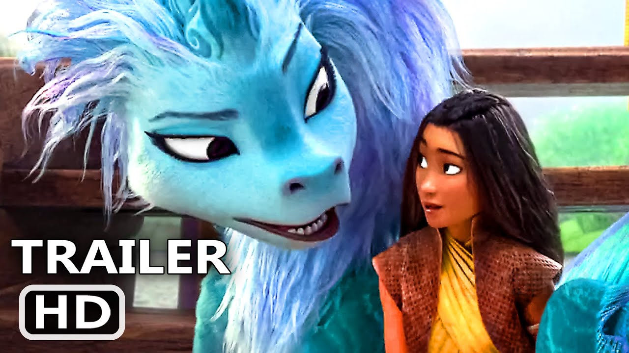 RAYA AND THE LAST DRAGON Trailer # 3 (NEW 2021) Disney Animation Movie HD