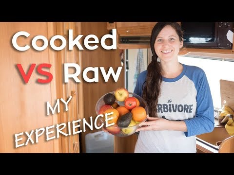 Yo-Yoing Between Cooked & Raw Foods | My Experience