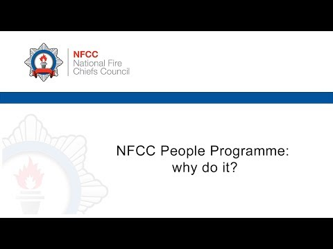 NFCC People Programme: why do it?