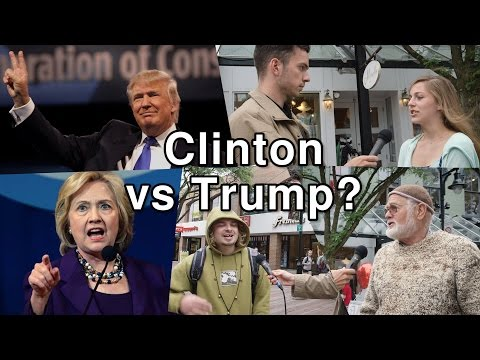 Clinton Vs Trump: 'It's Like The Lesser of Two Evils'