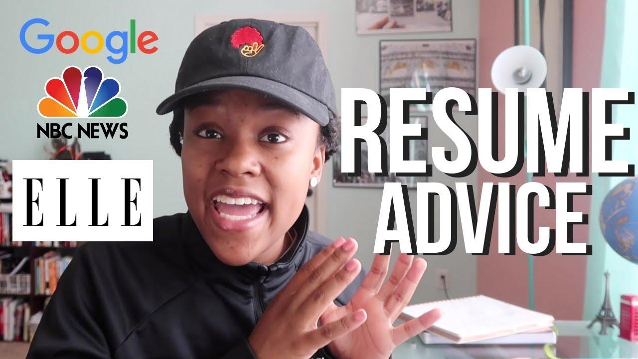competitive resume tips that got me internships at google