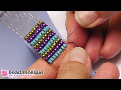 How To Use The Baby Jewel Loom With Artistic Wire