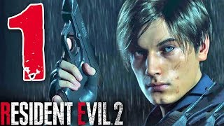 RESIDENT EVIL 2 REMAKE [Walkthrough Gameplay ITA HD - PARTE 1] - LA STORIA DI LEON