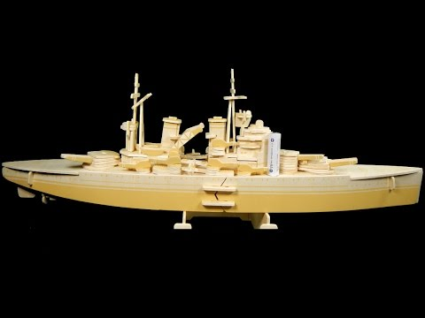 HMS Prince of Wales 3D wooden puzzle