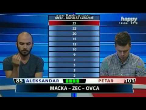 Kviz Naslovna strana - Petar Stanisavljević vs Aleksandar Simić