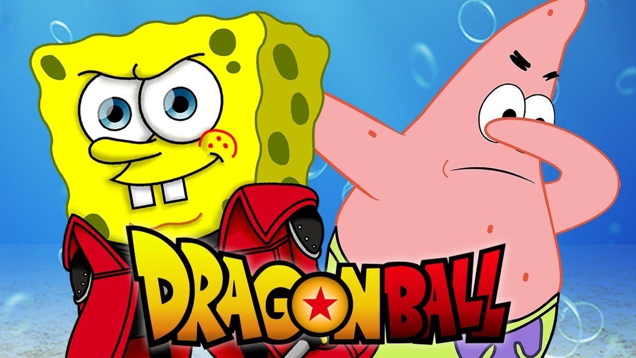Bob Esponja Patrick E Lula Molusco No Dragon Ball Youtube